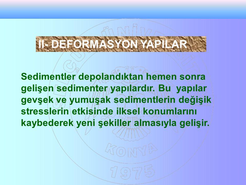 II- DEFORMASYON YAPILAR II- DEFORMASYON YAPILAR