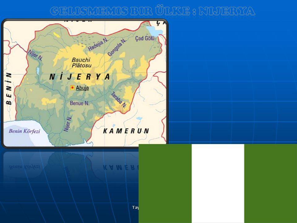 GeliSmemiS bir ülke : Nijerya