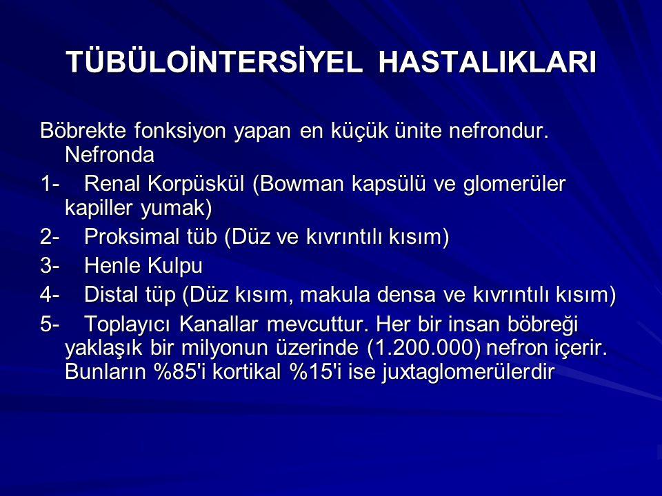 TÜBÜLOİNTERSİYEL HASTALIKLARI