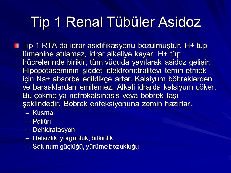 Tip 1 Renal Tübüler Asidoz
