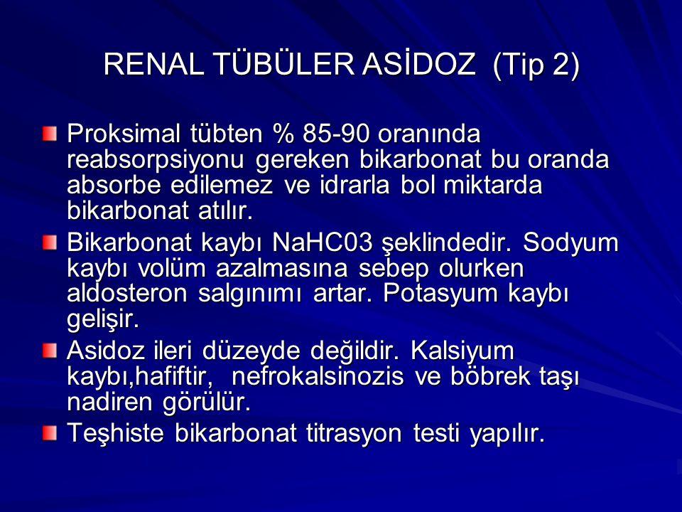 RENAL TÜBÜLER ASİDOZ (Tip 2)