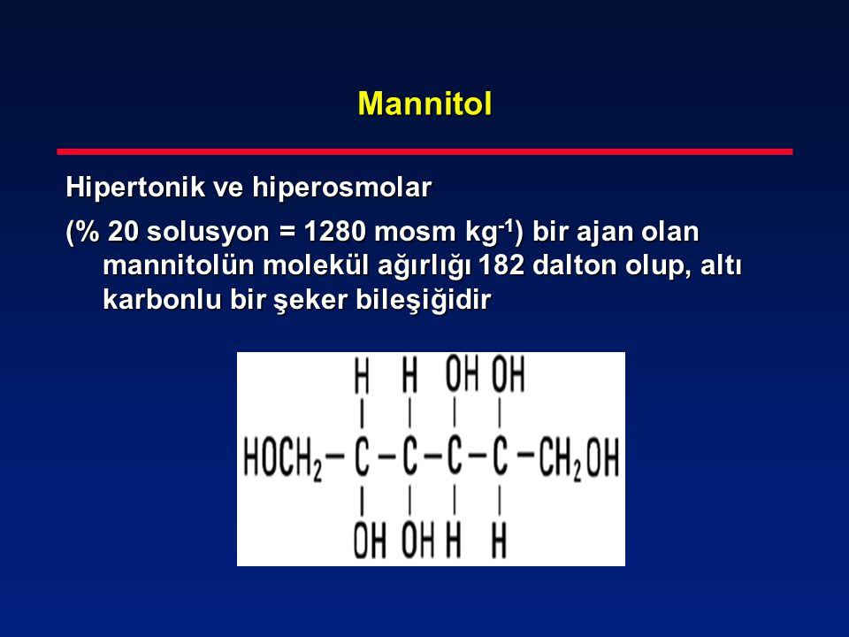 Mannitol