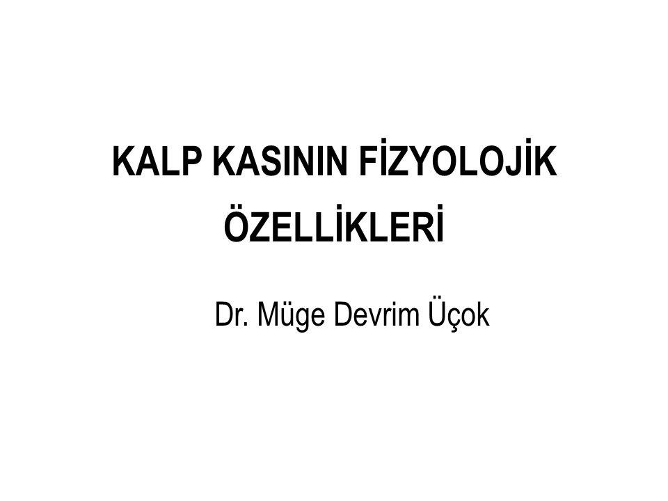 KALP KASININ FİZYOLOJİK ÖZELLİKLERİ