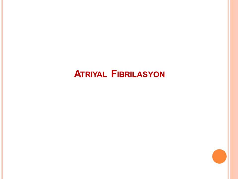 Atriyal Fibrilasyon