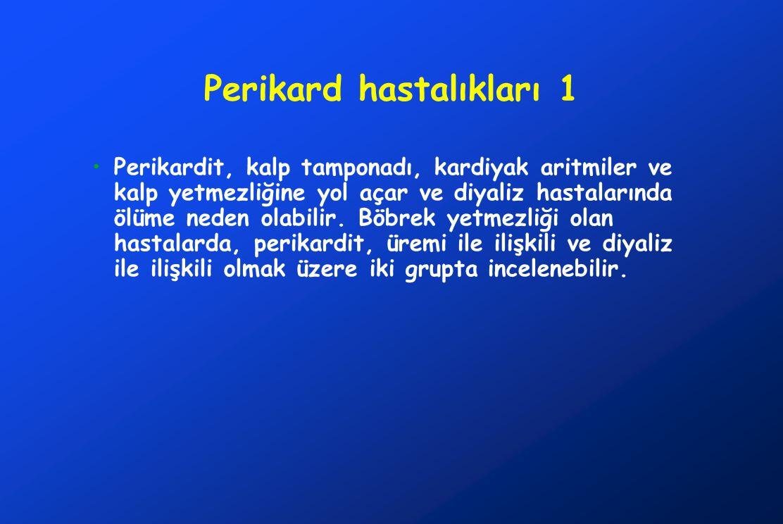 Perikard hastalıkları 1