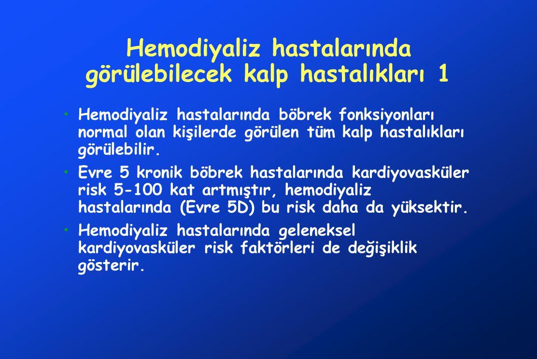 Hemodiyaliz hastalarında görülebilecek kalp hastalıkları 1