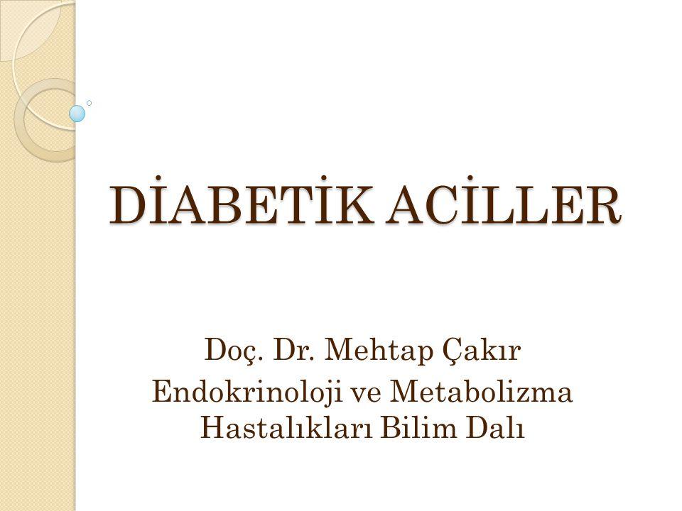 Endokrinoloji ve Metabolizma Hastalıkları Bilim Dalı