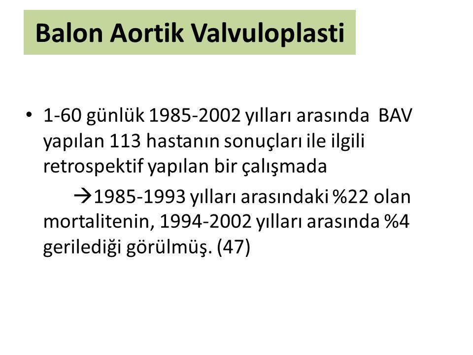Balon Aortik Valvuloplasti