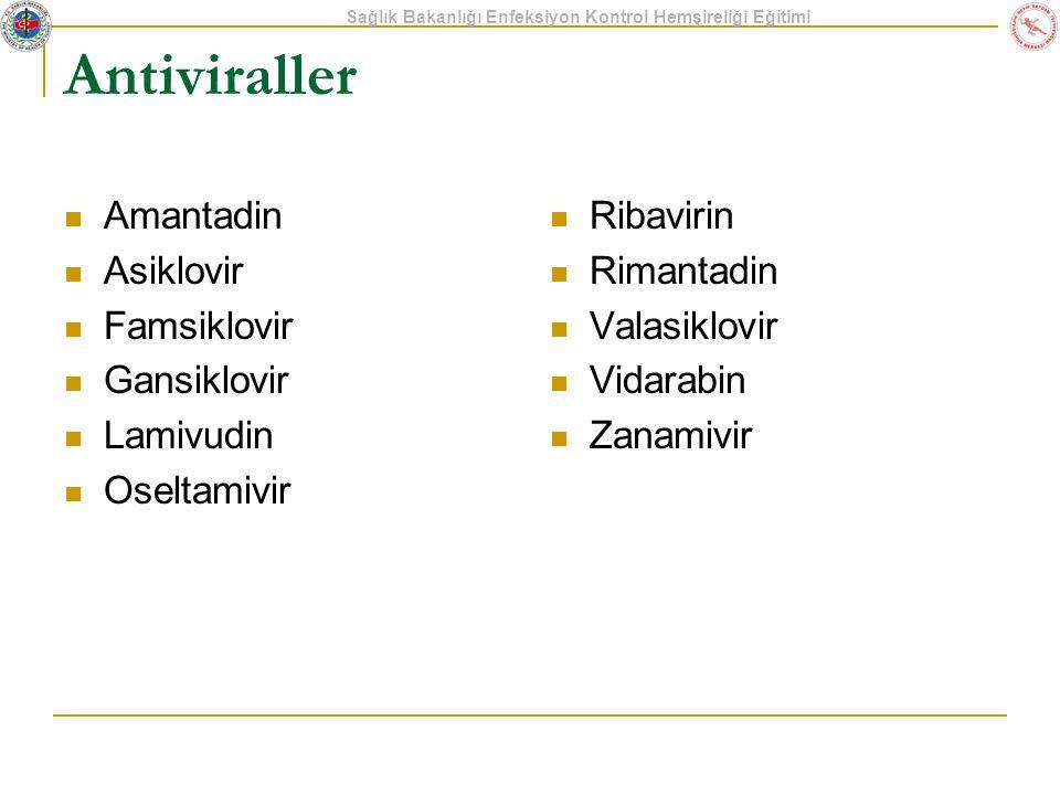 Antiviraller Amantadin Asiklovir Famsiklovir Gansiklovir Lamivudin