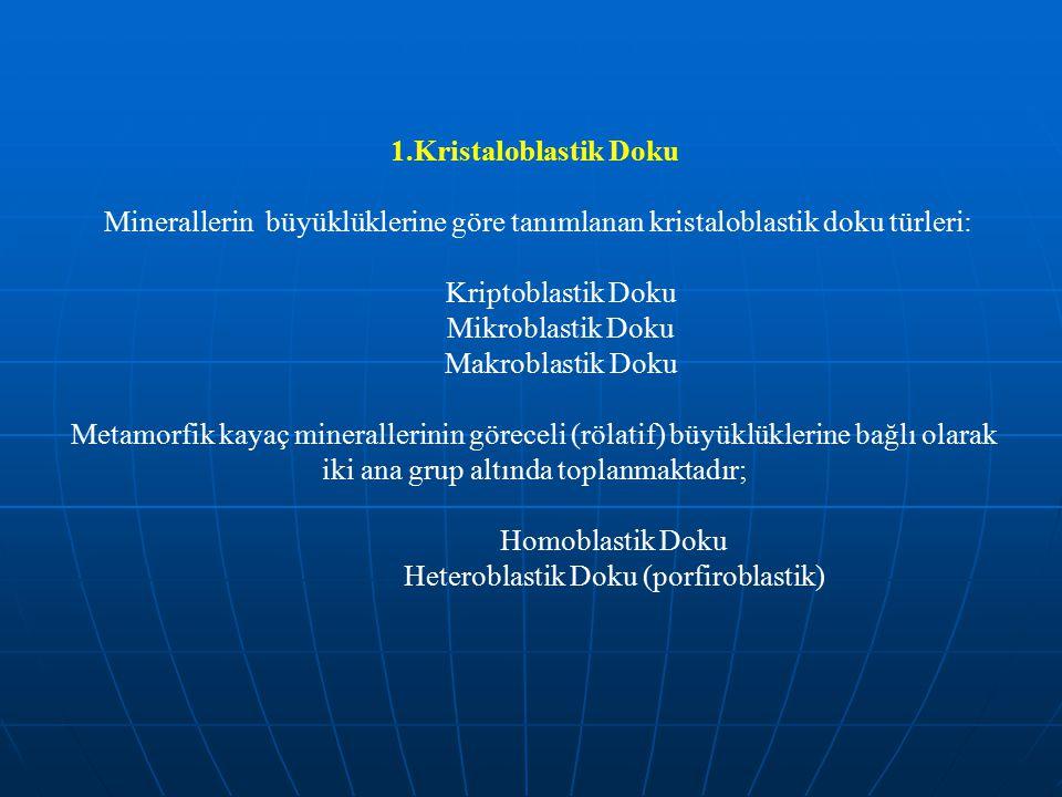 Heteroblastik Doku (porfiroblastik)
