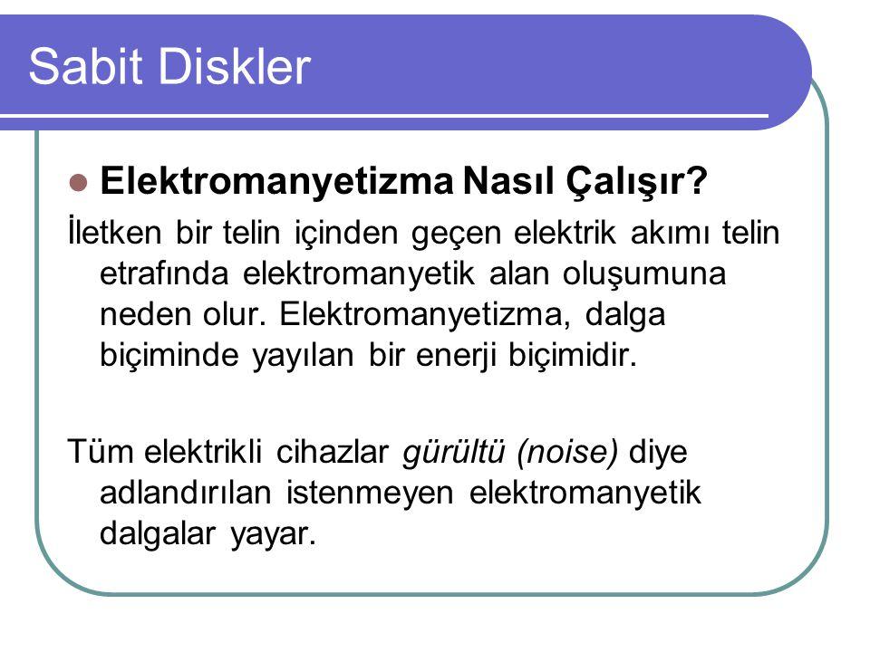 Sabit Diskler Elektromanyetizma Nasıl Çalışır