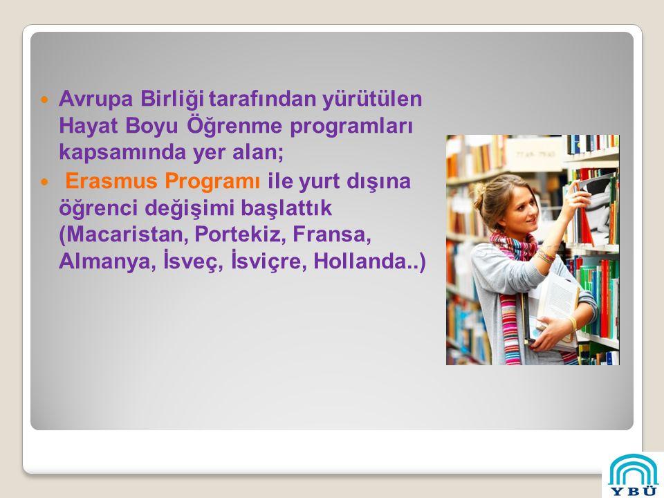 Avrupa Birliği tarafından yürütülen Hayat Boyu Öğrenme programları kapsamında yer alan;