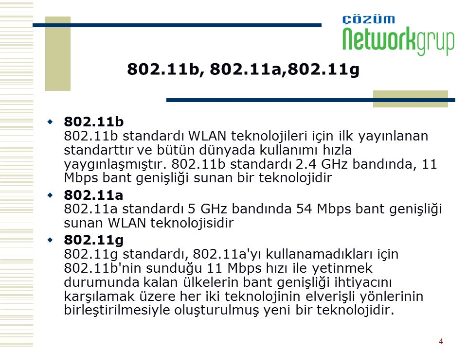 802.11b, 802.11a,802.11g
