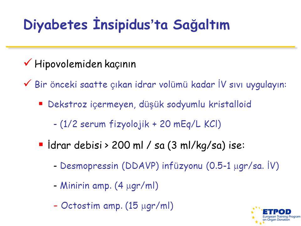 Diyabetes İnsipidus'ta Sağaltım