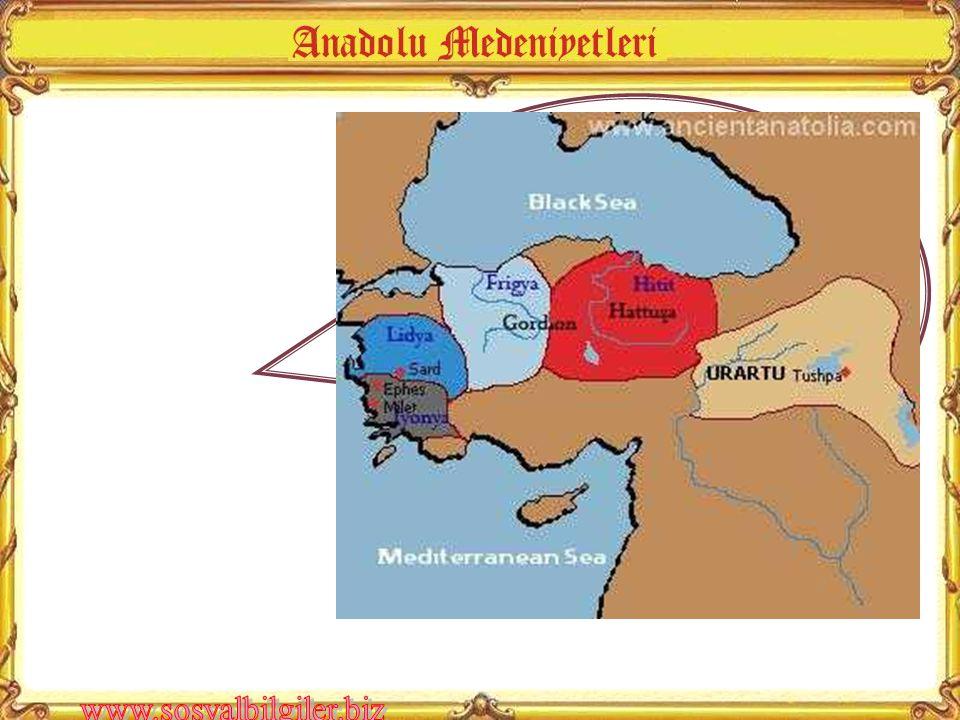 Anadolu'da hangi medeniyetler kurulmuştur