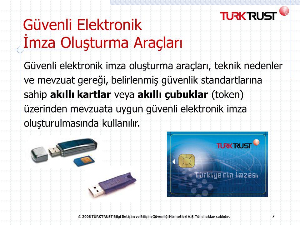 Güvenli Elektronik İmza Oluşturma Araçları
