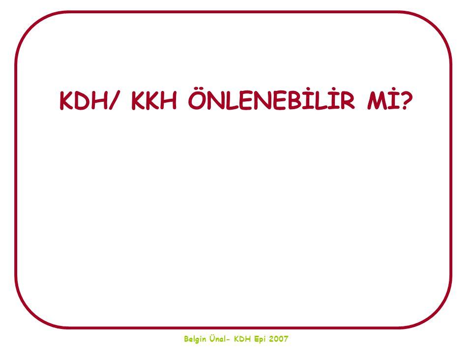 KDH/ KKH ÖNLENEBİLİR Mİ