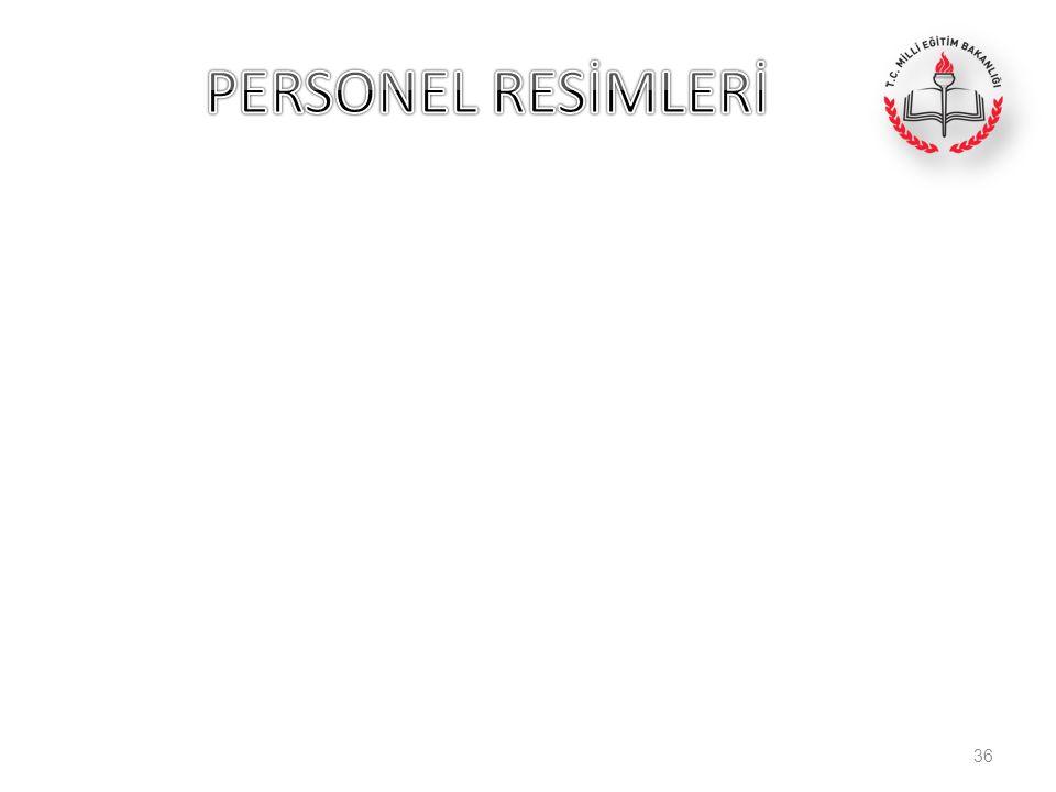 PERSONEL RESİMLERİ