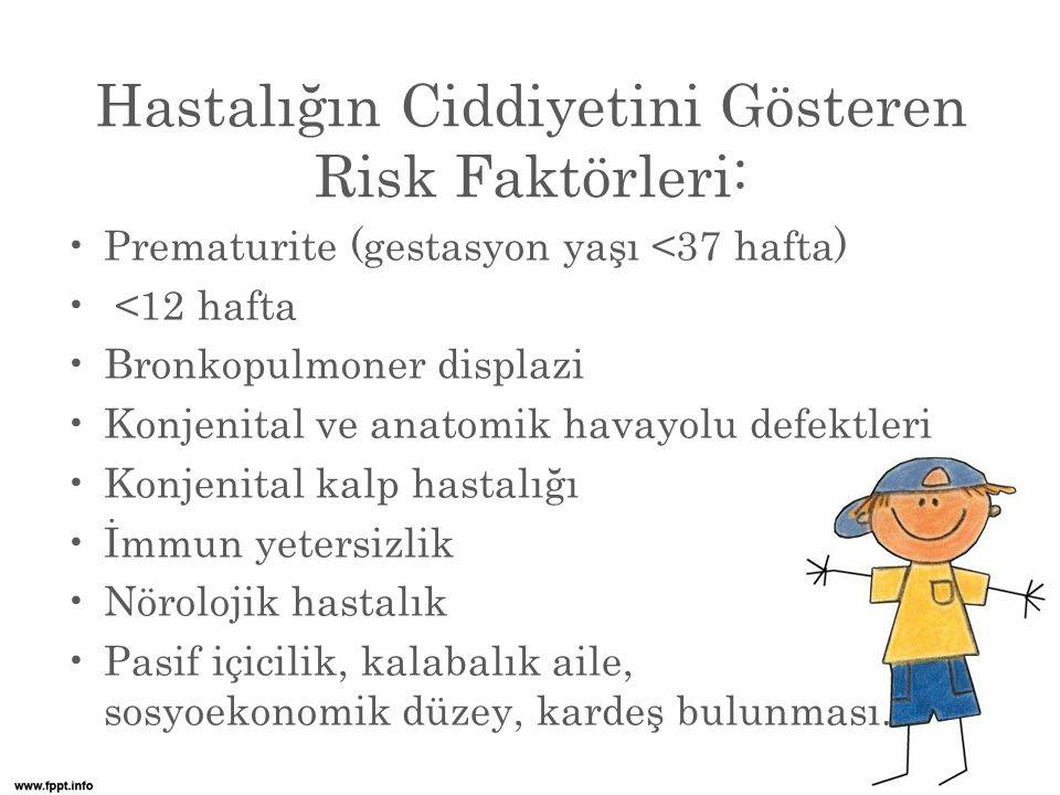 Hastalığın Ciddiyetini Gösteren Risk Faktörleri: