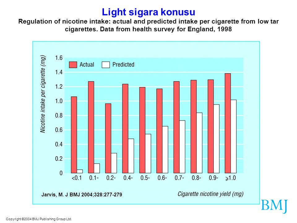 Light sigara konusu