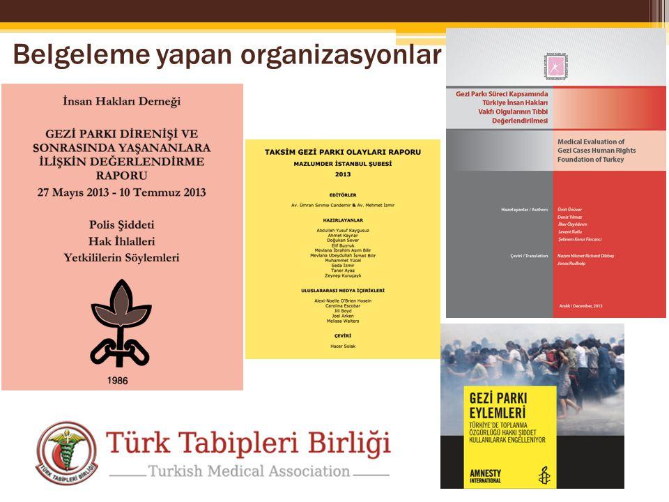 Belgeleme yapan organizasyonlar