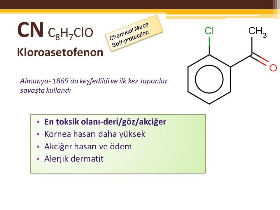 CN C8H7ClO Kloroasetofenon