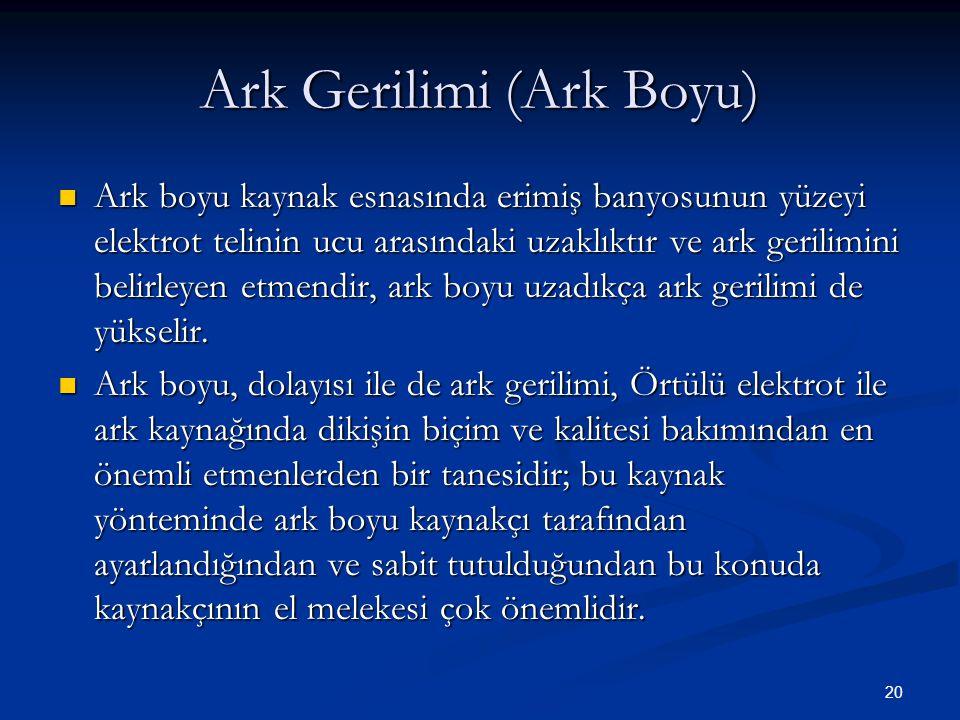 Ark Gerilimi (Ark Boyu)
