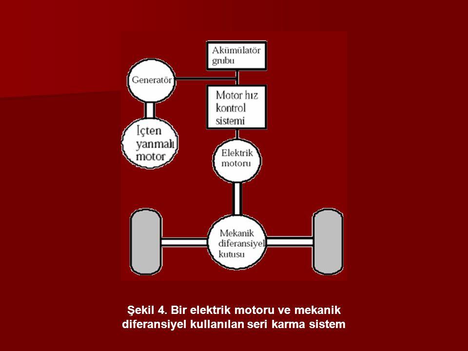 diferansiyel kullanılan seri karma sistem