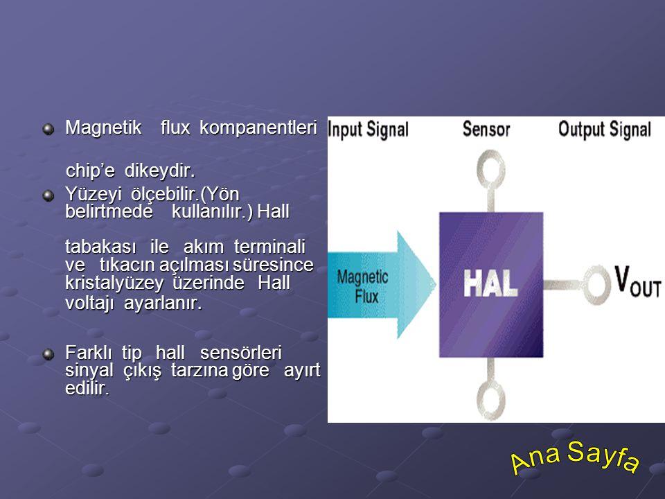 Ana Sayfa Magnetik flux kompanentleri chip'e dikeydir.