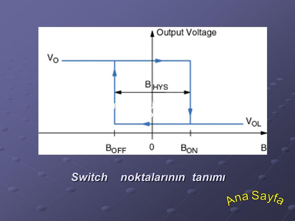 Switch noktalarının tanımı