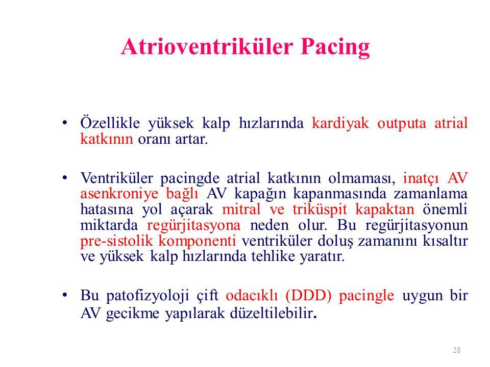 Atrioventriküler Pacing