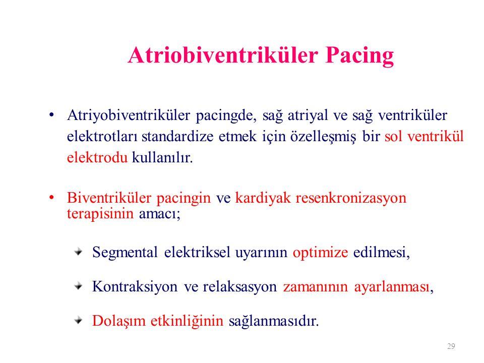 Atriobiventriküler Pacing