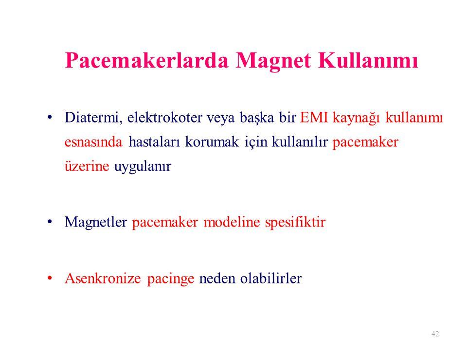 Pacemakerlarda Magnet Kullanımı