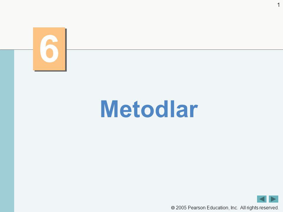 6 Metodlar