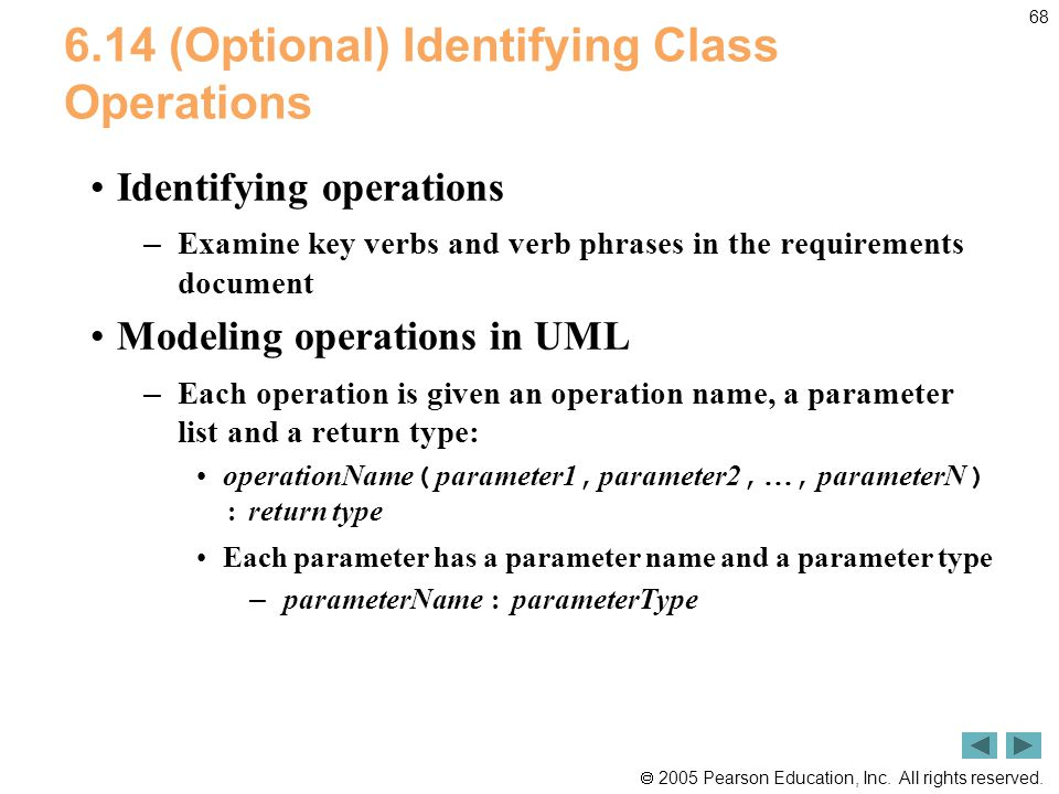 6.14 (Optional) Identifying Class Operations