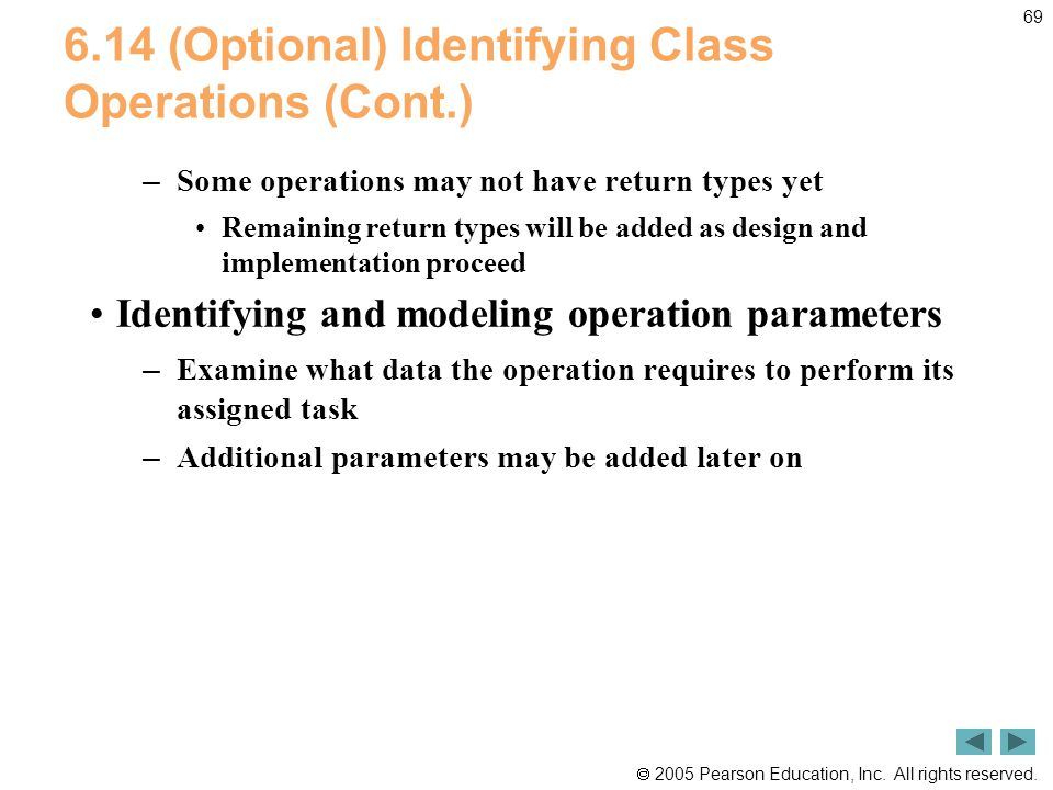 6.14 (Optional) Identifying Class Operations (Cont.)