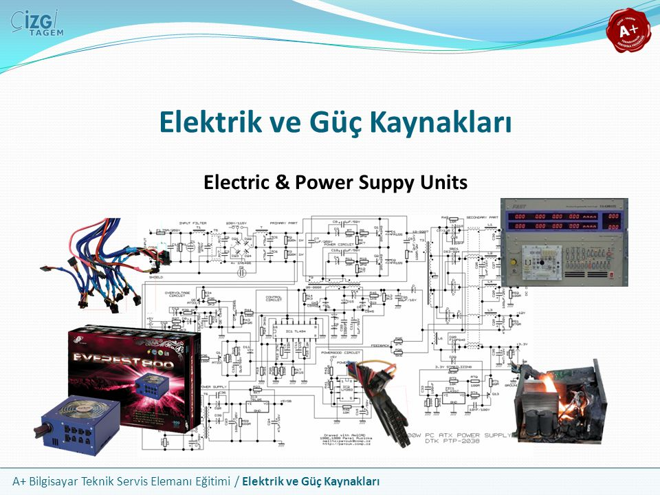 Elektrik ve Güç Kaynakları