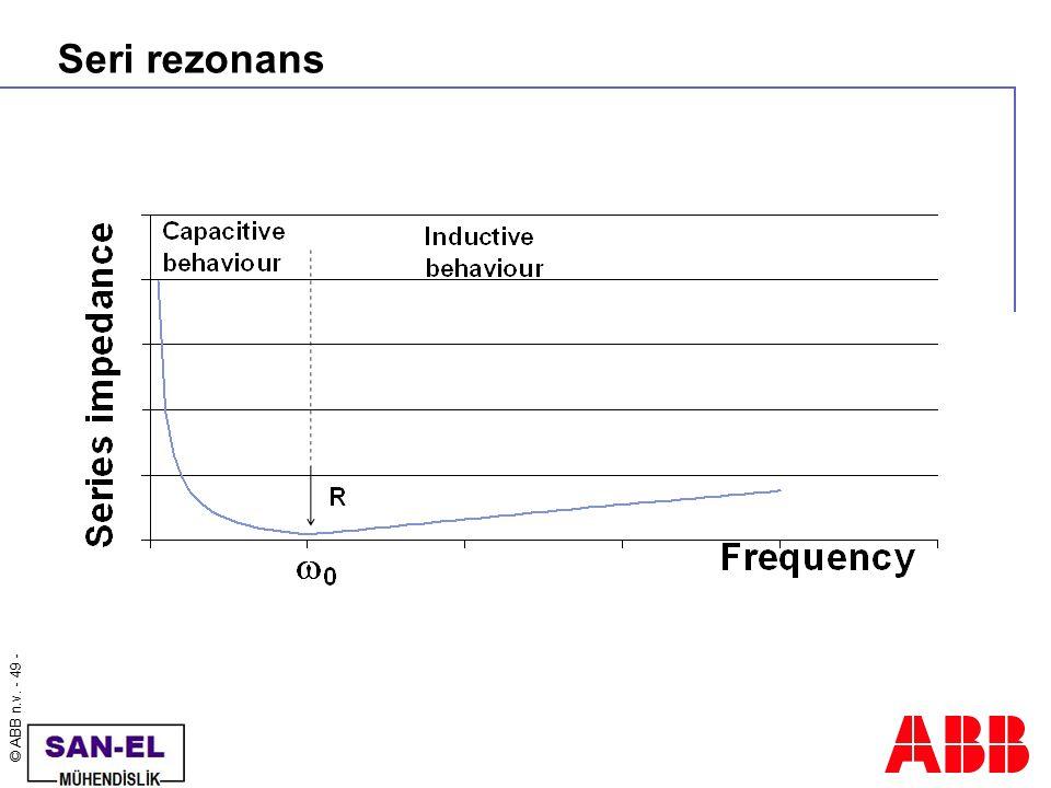 Seri rezonans