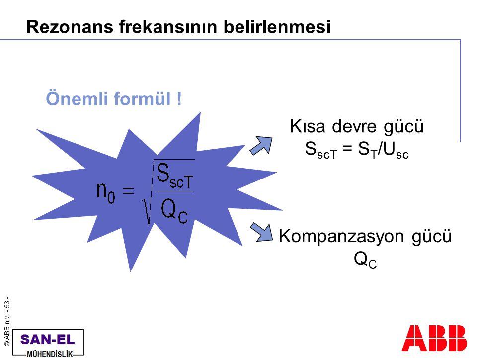 Rezonans frekansının belirlenmesi