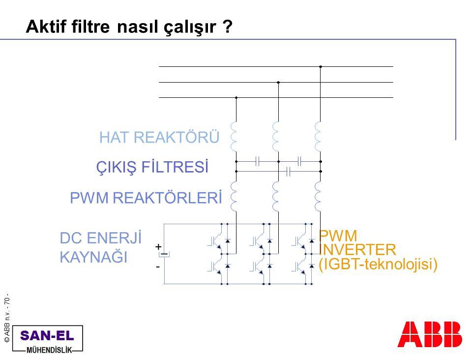 Aktif filtre nasıl çalışır