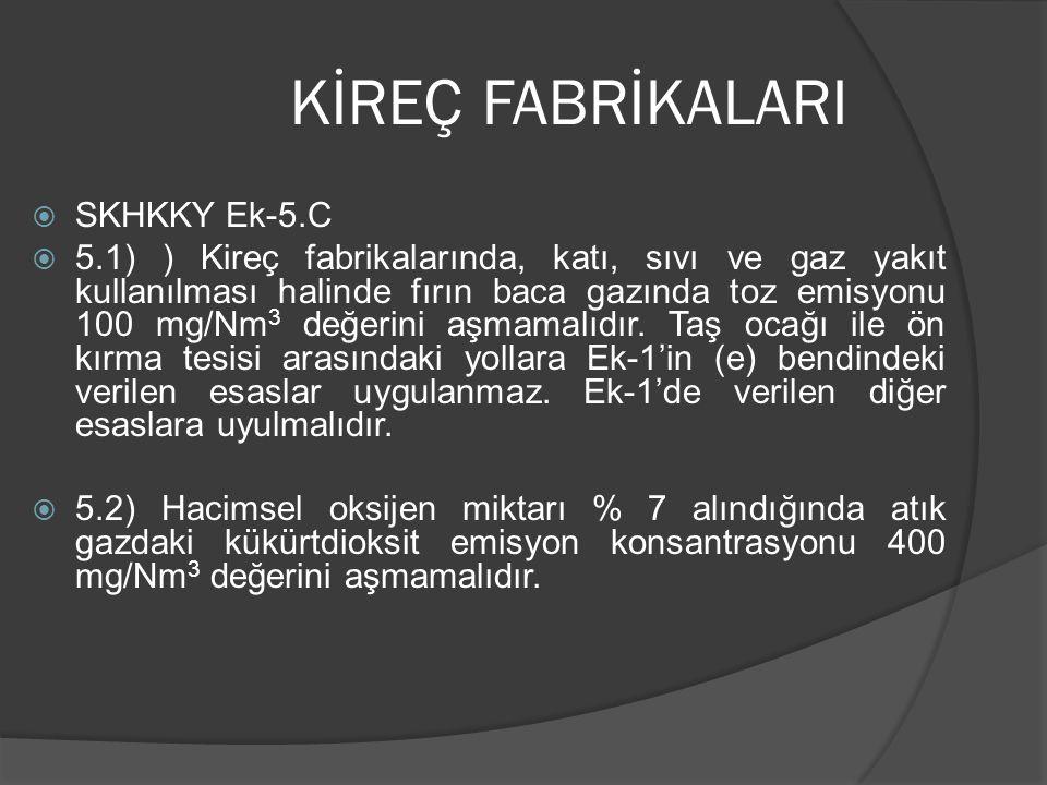 KİREÇ FABRİKALARI SKHKKY Ek-5.C
