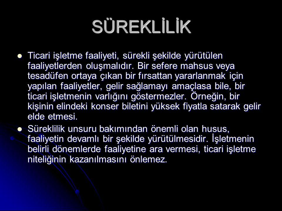 SÜREKLİLİK