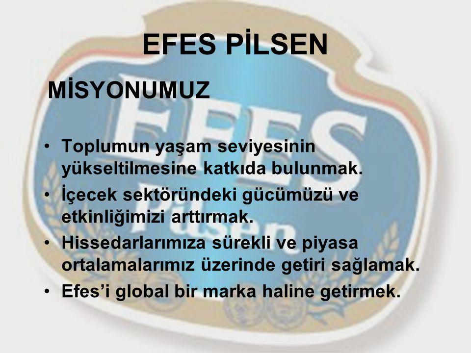 EFES PİLSEN MİSYONUMUZ