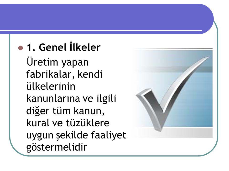1. Genel İlkeler