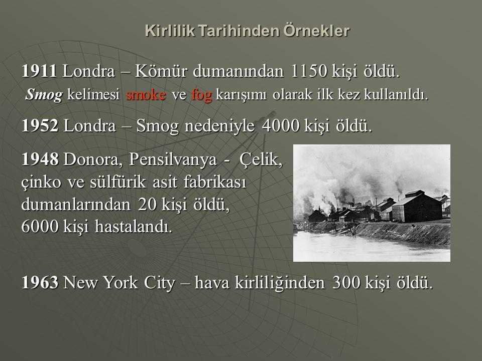 Kirlilik Tarihinden Örnekler