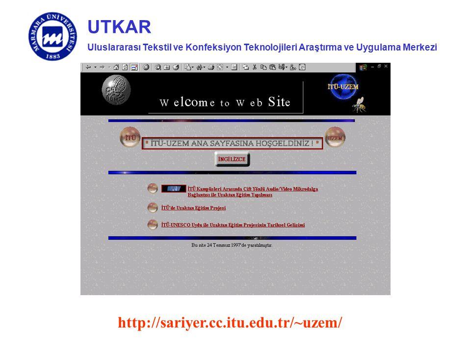http://sariyer.cc.itu.edu.tr/~uzem/