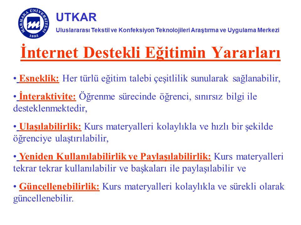 İnternet Destekli Eğitimin Yararları