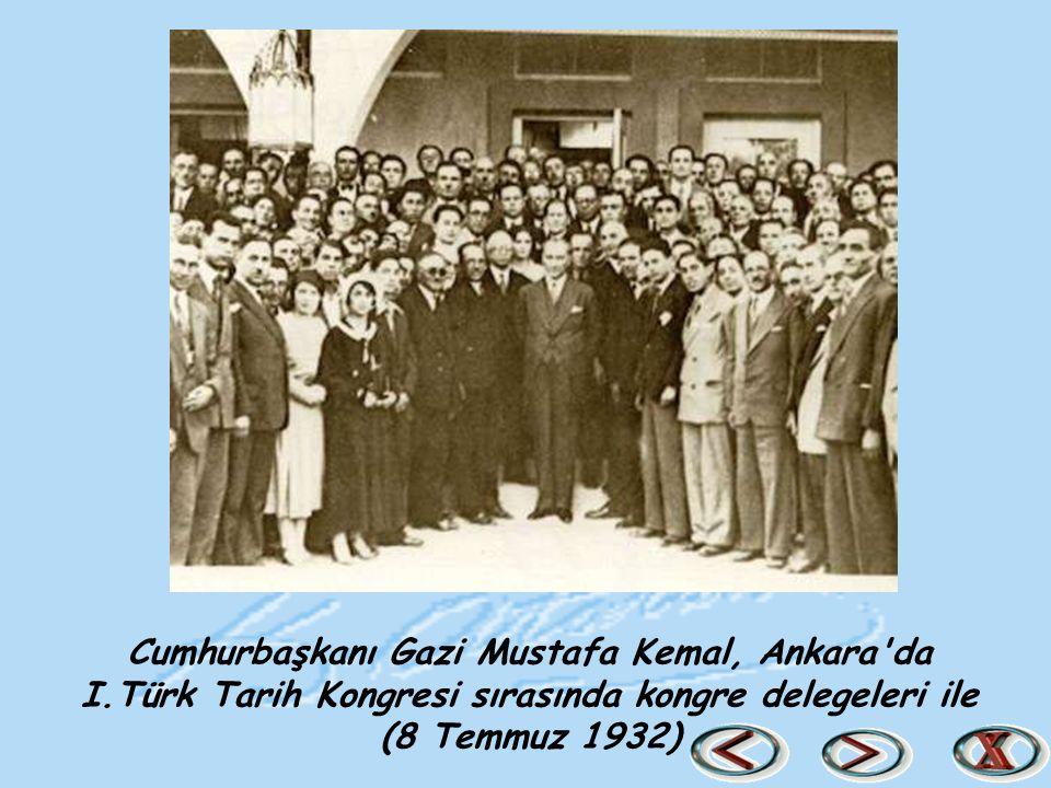 Cumhurbaşkanı Gazi Mustafa Kemal, Ankara da I