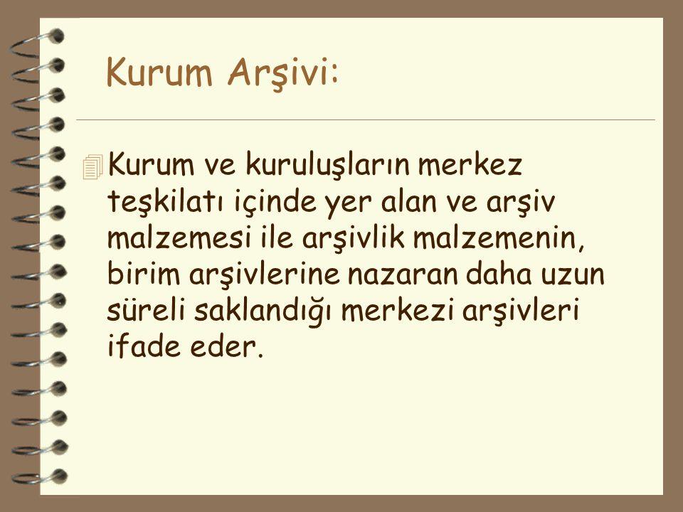 Kurum Arşivi: