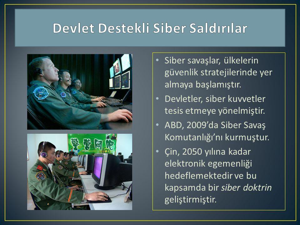 Devlet Destekli Siber Saldırılar